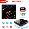 H96 MAX+ Smart TV BOX Android 9.0 OS 4GB RAM 32/64GB Quad Core 1080p 4K 2.4G/5G