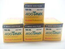 4 x KODAK TMAX 400 35mm EXP a buon mercato nero e bianco pellicola per 1st Class Royal Mail