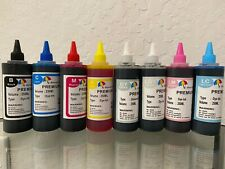 8x250ml refill ink for Canon PIXMA PRO-100 Wide-format printer CLI-42 cartridges