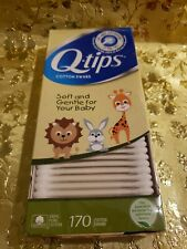 Q-tips Cotton Swabs For Babies 170 Cotton Swabs.