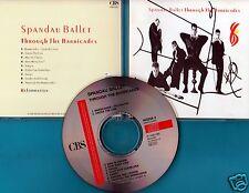 Spandau BALLET-CD-Through The Barricades-CD di 1986 -!!!!!