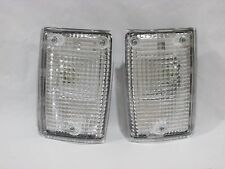 LH+RH Pair New Front Corner Light Lamp LandCruiser FJ60 FJ62 BJ60 BJ62 HJ60 HJ62