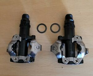 Shimano PD-M520 MTB SPD Pedals - New with cleats