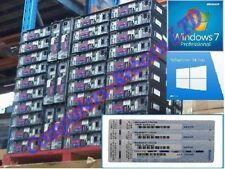 Windows 7 Genuine Professional 32 / 64bit Full Version Scrap PC License Key