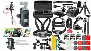 DJI Osmo Pocket Action Camera Expansion Accessories And Mounts *50 IN 1 Bundle*