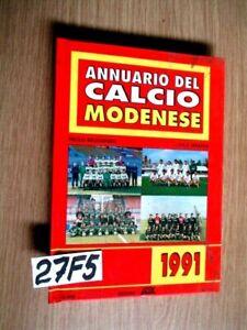 MODENA ANNUARIO DEL CALCIO MODENESE 1991   (27F5)