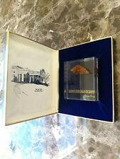 Ronald Reagan White House piece of 1934 Oval Office Floor VIP Gift