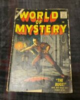 World of Mystery # 3 Marvel/Atlas 1956 Everett Cover - Jack Davis/Torres/Ditko
