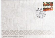 LATVIA FDC EUROPA 2005