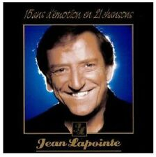 Jean LaPointe - 15 Ans D'emotion en 21 Chansons [New CD] Canada - Import