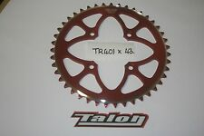 TALON TR 401 X 43- RED REAR SPROCKET - TRIALS - MONTESA 4RT-BETA-GAS GAS