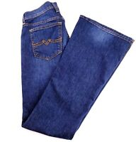 Lucky Brand Jeans Womens Size 2/26 Sweet N Flare Stretch Blue Denim