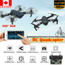CA Drone X Pro Foldable Quadcopter WIFI FPV 1080P HD Camera 3 Extra Batteries