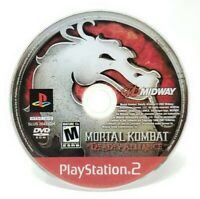 Mortal Kombat Deadly Alliance Sony PlayStation 2 PS2 Game Only