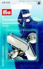 Prym Dungarees garnish 30mm Steel rust protection silver color 416410