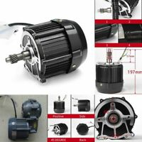 Brushless Dc Motor 650w 48v 60v Three Four Wheel Electric Car Rear Axle Motors