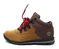Timberland Little Kids GT Rally Mid Hiker Boots Brown Suede Size 2 M