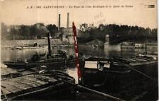 CPA SAINT-DENIS Le Pont de l'Ile Saint-Denis et le Quai de Seine (569214)