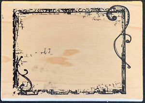 Hampton Art Decorative Frame Rubber Stamp