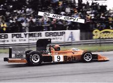 7x5 Photograph Vittorio Brambilla  F1 March 751,  British GP  Silverstone 1975
