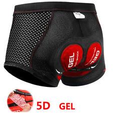 5D Gel Pad Cycling Shorts Men Downhill Underwear MTB Mountain Bike Short Pants