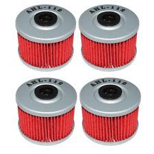 4Pack Oil Filter for Honda ATV TRX250X TRX700XX ATC250ES BIG RED 1985~1987