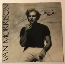 Van Morrison Signed Wavelength Vinyl LP JSA COA #Z04262 Autographed