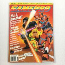 GamePro Magazine N.E.S. BASEBALL June 1990 NIntendo Sega Genesis Lynx Atari VTG