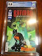 Batman Beyond #29 Pasqual Ferry Cover CGC 9.8 NM/M 1st Pr A Robin Detective DC