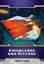 Star Wars The Card Game Knowledge and Defense Force Pack New (Sealed)