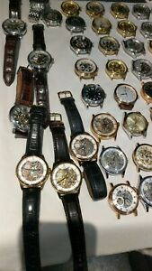 Mens Rotary Automatic Skeleton Returns Watches 20