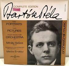 Bela Bartok Complete Edition Mihaly Szucs Miklos Erdelyi LP Hungaroton SLPX 1302