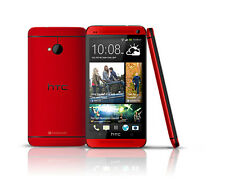 New HTC One M7 - 32GB 3G GPS WIFI - Red (Unlocked) 4.7''  Android OS Smartphone