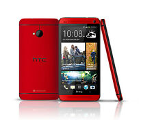 HTC  One M7 - 32GB - Red Smartphone