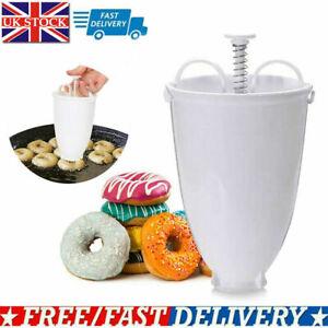 Doughnut Mould Donut Waffle Maker Machine Dispenser Kitchen Utensil Tool UK