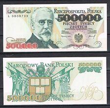 POLONIA POLAND 500000  ZLOTYCH 1993   Pick 161    SC  UNC