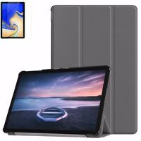 Slim Smart Case Cover for Galaxy Tab S4 SM-T830 / T835 + Glass Screen Protector