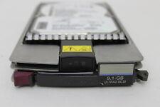 """COMPAQ 104665-001 9.1GB 3.5"""" 7200K WIDE ULTRA2 SCSI HARD DRIVE W/TRAY 175552-001"""