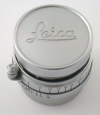 LEICA Summicron 2/50 50 50mm F2 2 M39 LTM Nr. 1023216 1952 yellow gelb