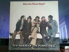 VTG VINYL FACTORY SAMPLE New Riders Of The Purple Sage-Who Are Those Guys PROMO!