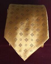 Krawatte Lanvin Paris Tie Schlips Binder 100 % Seide eingewebtes Muster