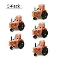 5Pcs Mattel Disney Pixar Cars 3 Tractor Metal 1:55 Diecast Toy Vehicle Loose New