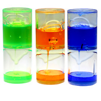 Sensory Liquid Motion Jelly Ooze Tube, Calming Visual Timer SEN Autism ASD