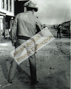 James Arness Marshal Dillon  Gunsmoke 1960's Opening Scene  8 x 10