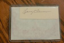 Lance Clemons, Royals, Cardinals, Red Sox signed Cut Autograph