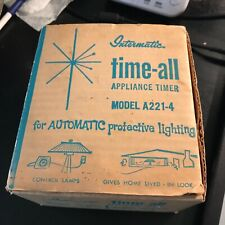 Intermatic Time-All Appliance Timer Model A221-4