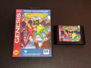 Battletoads Double Dragon The Ultimate Team w/Case Sega Genesis Authentic