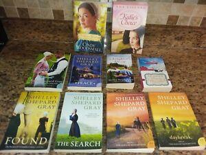 10 Inspirational romance books~Amish~Shelley Shepard Gray~Cindy Woodsmall