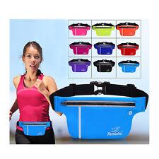 New Adjustable Waterproof Running Belt Bum Waist Pouch Fanny Pack Sport Zip Bag
