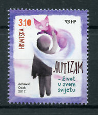 Croatia 2017 MNH Autism Living in their Own World 1v Set Stamps